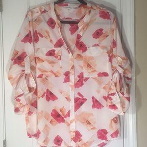 Women's Calvin Klein Sz XL Shirt/Blouse